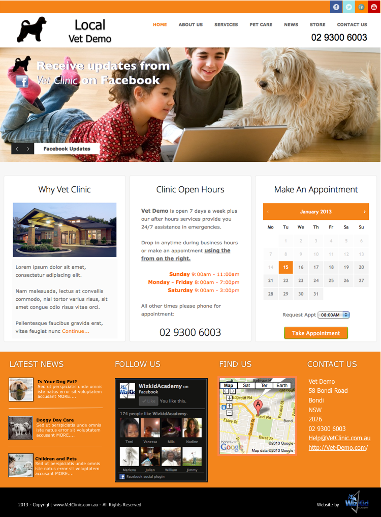 Local-veterinary-Web-Design