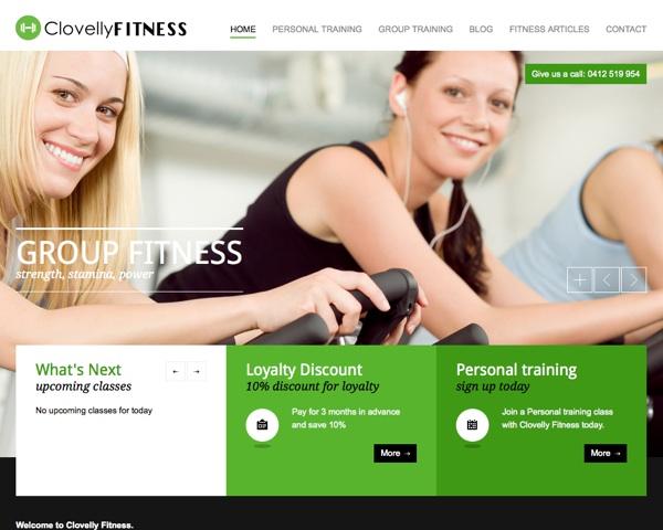 Clovelly Fitness Website Design | Bondi Web Design | Custom Sydney ...