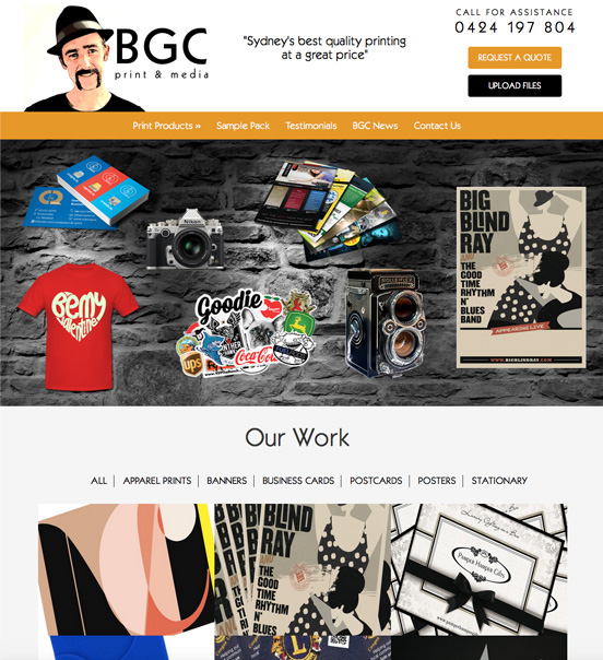 sydney-printing-website-design