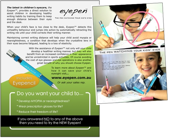 Eyepen Flyer Design