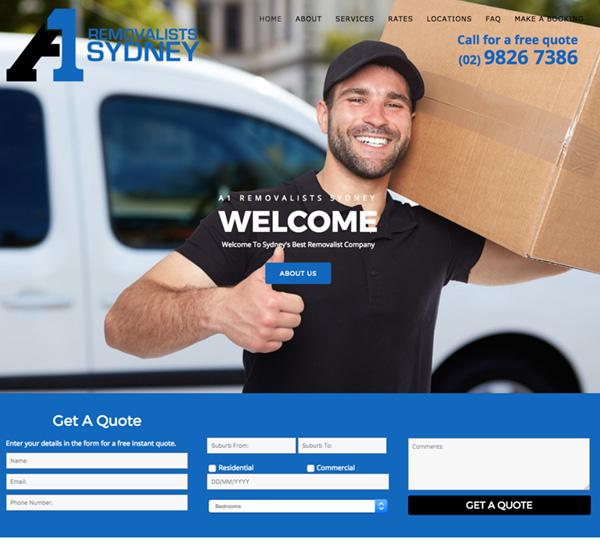 sydney-removalist-website-design