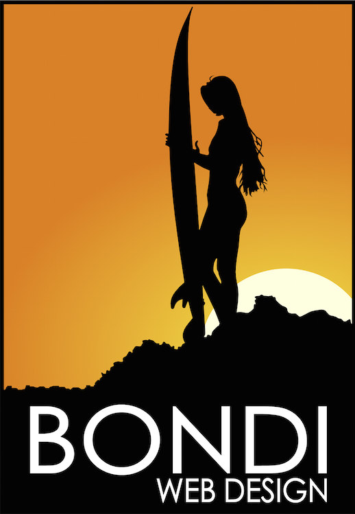 bondi web design poster