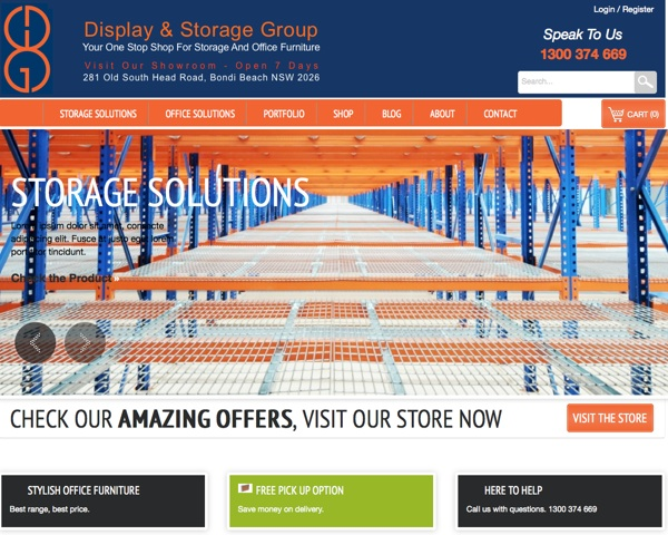 dsg website design