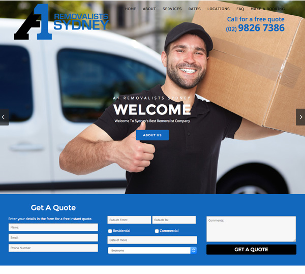 sydney-removalist-website-design
