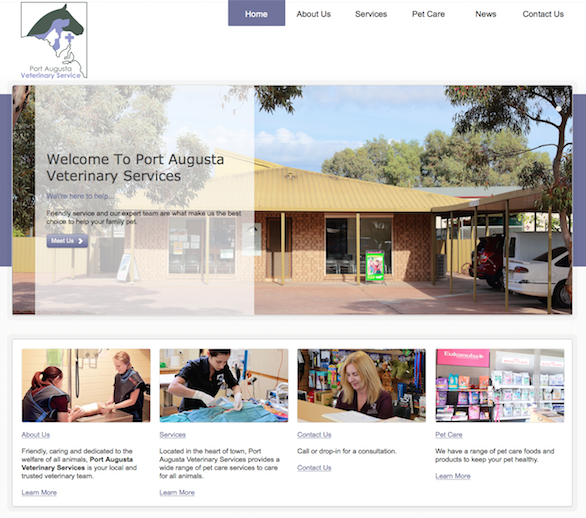 website-design-port-augusta-vet-clinic